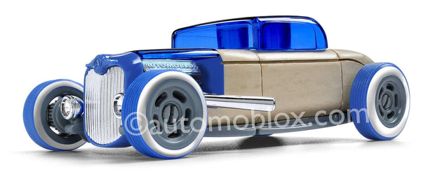 Automoblox | Mini Blue HR-3 Hot Rod