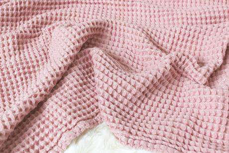 The Sugar House Cloud Blanket ~ Blush Pink