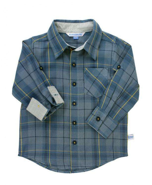 RuggedButts ~ Noah Plaid Button Down Shirt