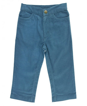 RuggedButts ~ Ethereal Blue Straight Corduroy Pants
