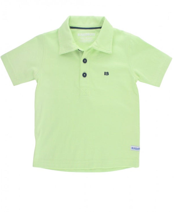 RuggedButts ~ Honeydew Polo Shirt