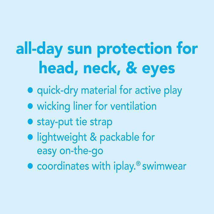 I Play | Bucket Sun Protection ~ White Sea Pals