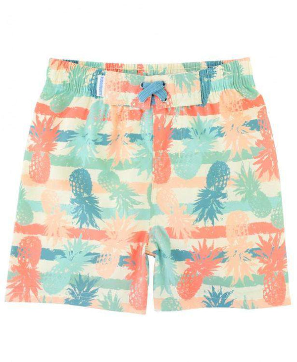 RuggedButts | Swim Trunks ~ Playful Pineapples