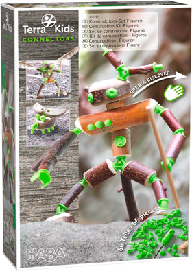 Haba - Terra Kids Connectors Figures 66 pcs