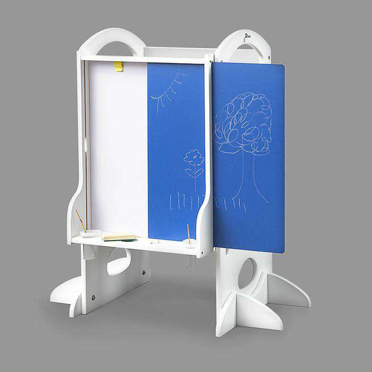 Little Partners Learn and Share Easel (Easel Only) | Soft White