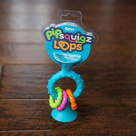 Fat Brain Toys | Pip Squigz Loops | Teal