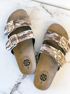 Simply Southern Sandals ~ Camo