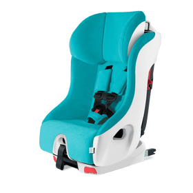 Clek Foonf Convertible Child Seat | Capri w/ White Base in Microsuede
