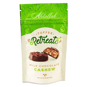 Abdallah Chocolate | Retreats ~ Cashew Butter Milk Chocolate