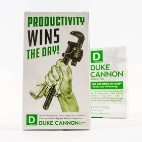 Duke Cannon - Big Ass Brick of Soap - Productivity