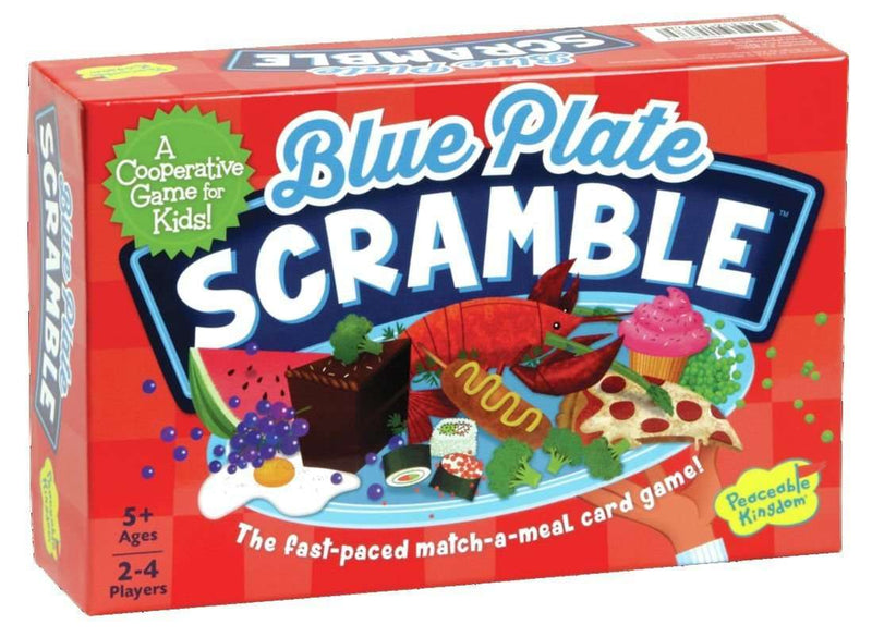 Peaceable Kingdom ~ Blue Plate Scramble