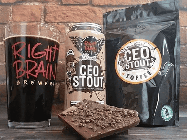 Mel's Toffee | Right Brain CEO Stout