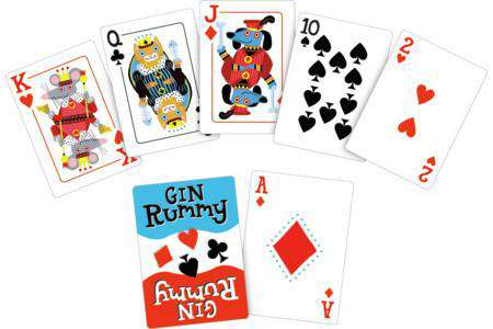 Peaceable Kingdom | Card Games ~  Gin Rummy