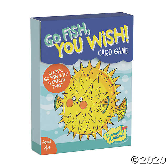 Peaceable Kingdom | Card Games ~  Go Fish You Wish