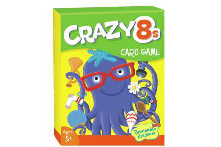 Peaceable Kingdom | Card Games ~ Crazy 8s