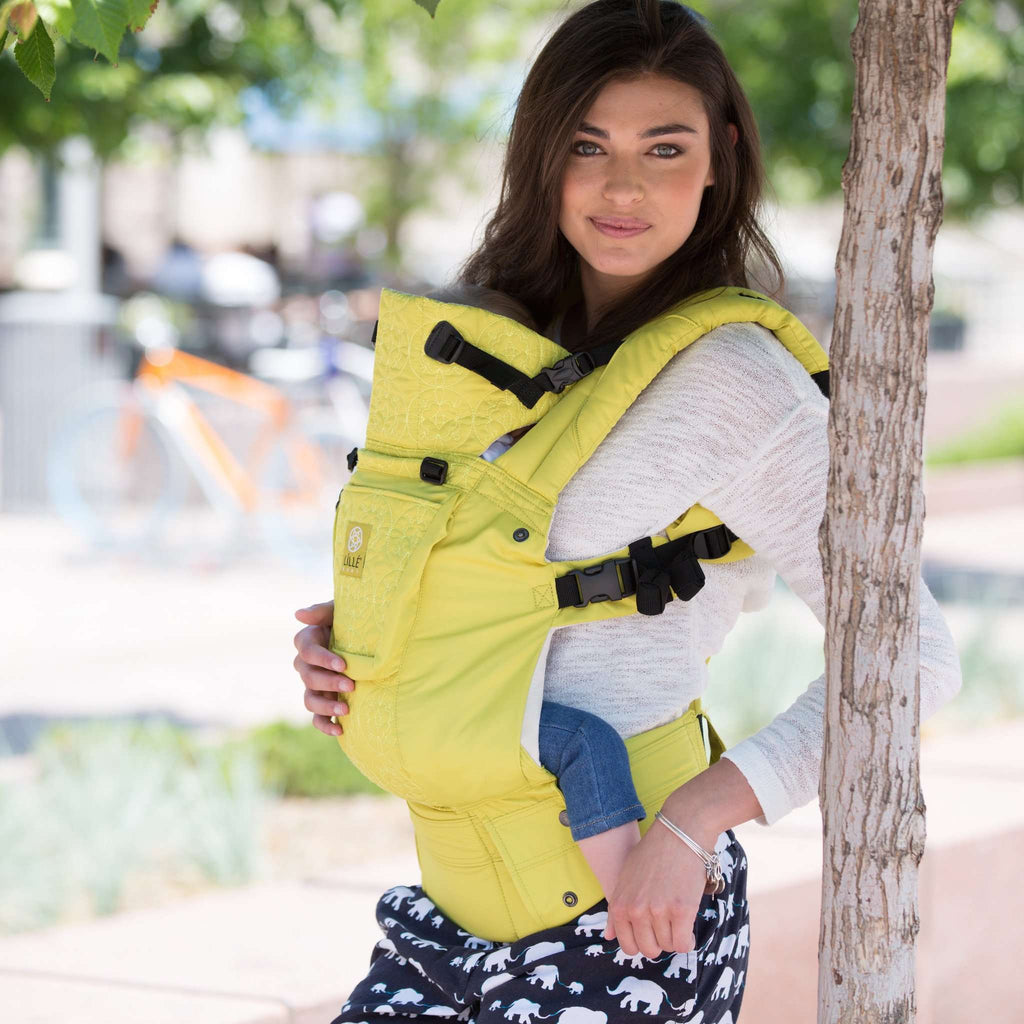 Lillebaby Carrier Complete Embossed Luxe | Citrus