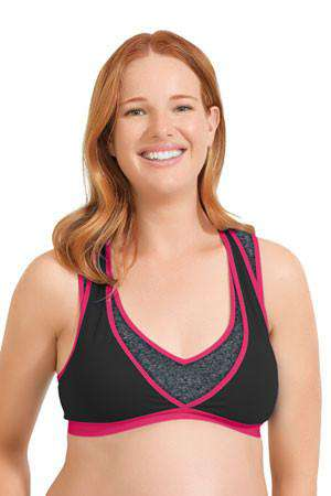 Cake Lingerie | Lotus Yoga & Pump Bra Fuchsia *final sale*