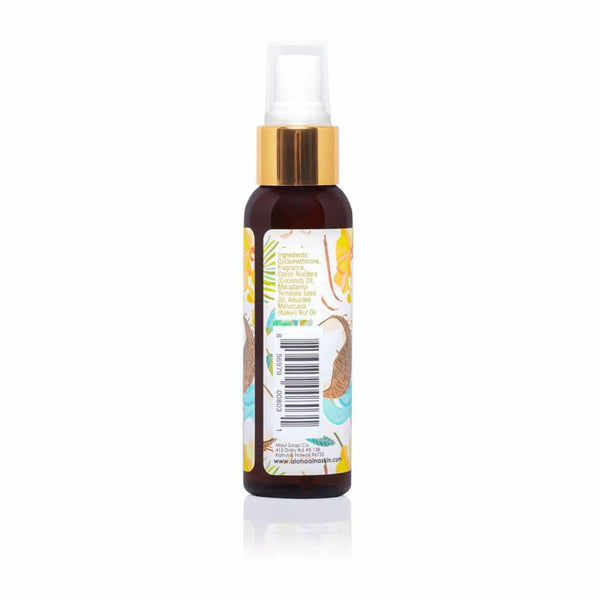 Maui Soap Co. - Aloha 'Aina Hawaiian Naturals Body Mist – Coconut Milk 2 oz