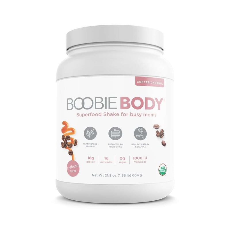 Boobie Bar | Boobie Body Super Food Shake ~ Coffee Caramel