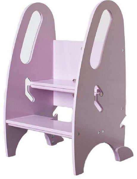 Little Partners 3-in-1 Growing Step Stool | Pink