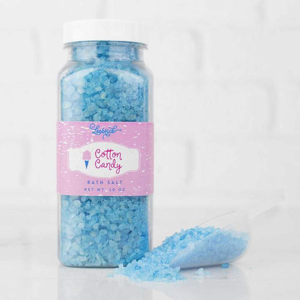 Leebrick - Cotton Candy Bubble Bath Salt