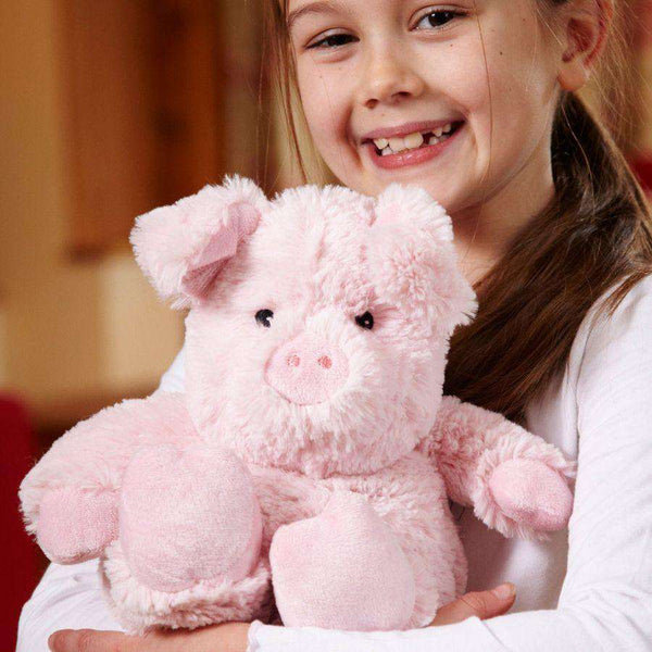 "Warmies | Warming Soft Toys ~ 13"" Pig"