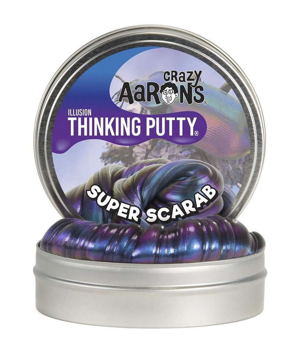 Crazy Aaron's Thinking Putty | Super Illusions Mini Tins
