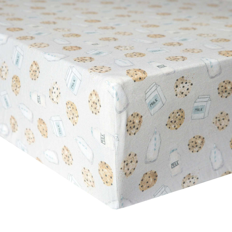 Copper Pearl | Premium Knit Fitted Crib Sheet ~ Chip