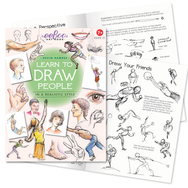 Learn to Draw People Art Book