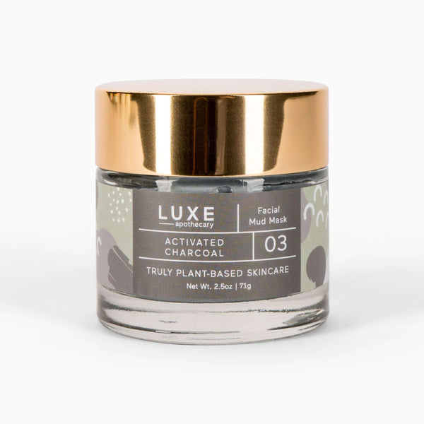 Luxe Apothecary by Cait + Co - Activated Charcoal Facial Mud Mask