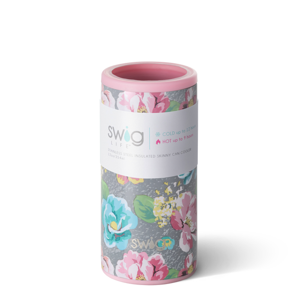 Swig Life - Garden Party 12 oz Skinny Can Cooler