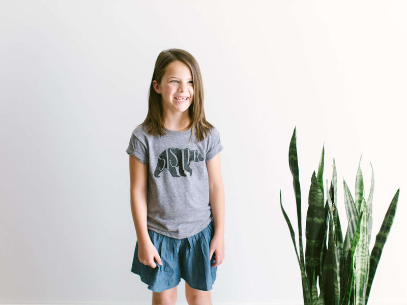 The Oyster's Pearl - Sister Bear Kids Tee