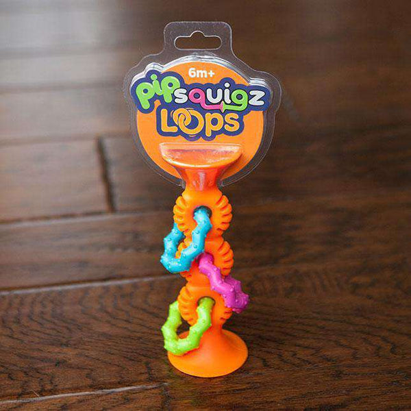 Fat Brain Toys | Pip Squigz Loops | Orange