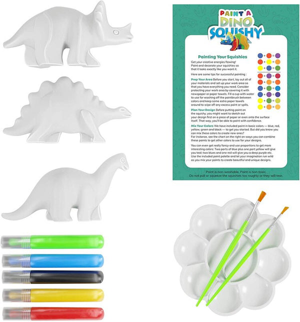 Dan & Darci | Paint 'N Play Dino Squishy