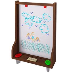 Little Partners Learn and Share Easel (Easel Only) | Dark Cherry