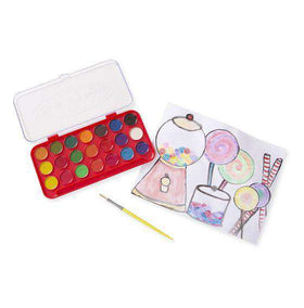 Melissa & Doug | Deluxe Watercolor Paint Set