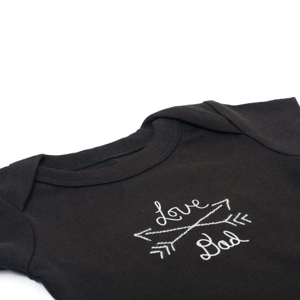 Finn + Emma | Love Dad | Lap Bodysuit