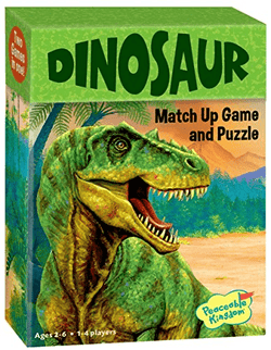 Peaceable Kingdom | Match Up Games & Puzzles ~  Dinosaur