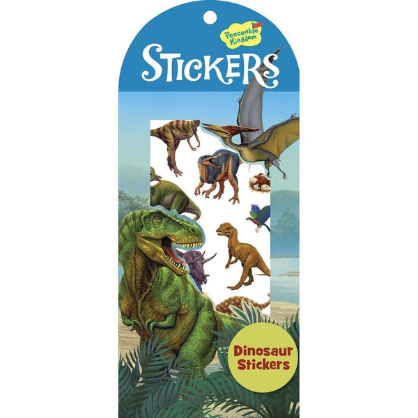 Peaceable Kingdom | Dinosaur Stickers