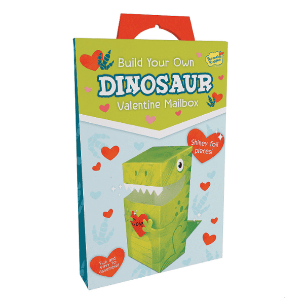 Peaceable Kingdom | Valentine Mailbox ~ Dinosaur *final sale*