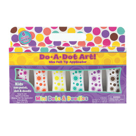 Do A Dot Art | Dot Markers ~ Mini Island Brights 6 pack