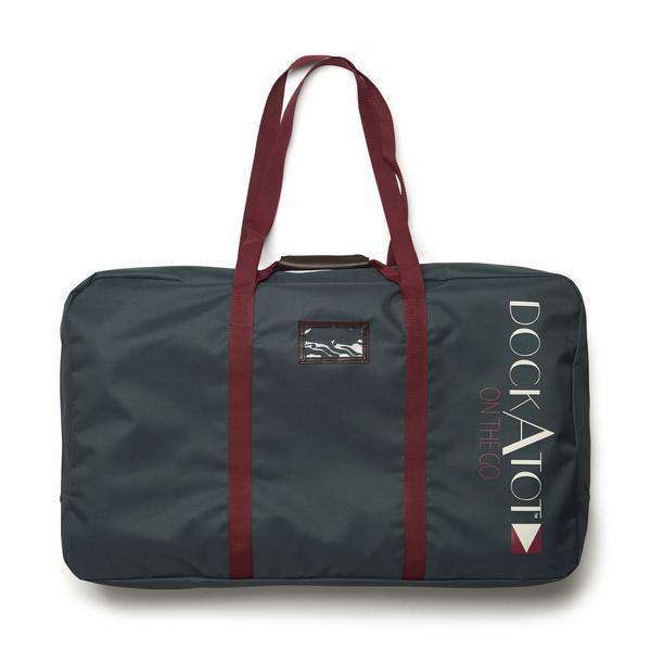 DOCKATOT On the Go DELUXE Transportation Bag - Midnight Teal