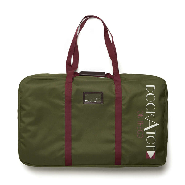 DOCKATOT On the Go DELUXE Transportation Bag - Moss Green