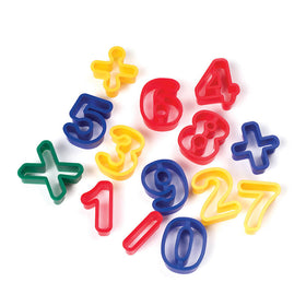 Creativity Street - Numbers Dough cutters