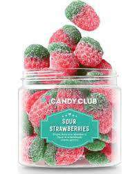 Candy Club ~ Sour Strawberries