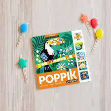Poppik | 6 Cards + 360 Stickers ~ Tropical