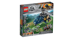 Lego | Jurassic World ~ Blue's Helicopter Pursuit