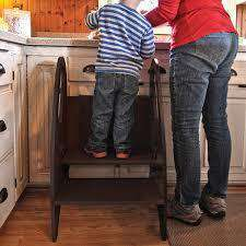 Little Partners 3-in-1 Growing Step Stool | Espresso