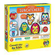 Creativity For Kids | Sticker Suncatchers