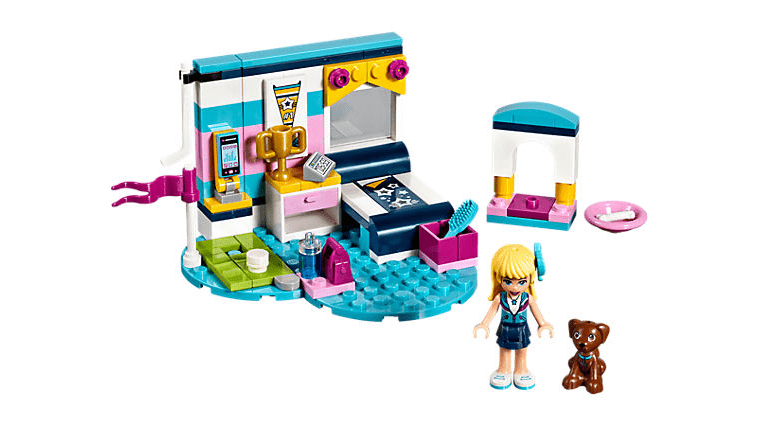 Lego | Friends ~ Stephanie's Bedroom